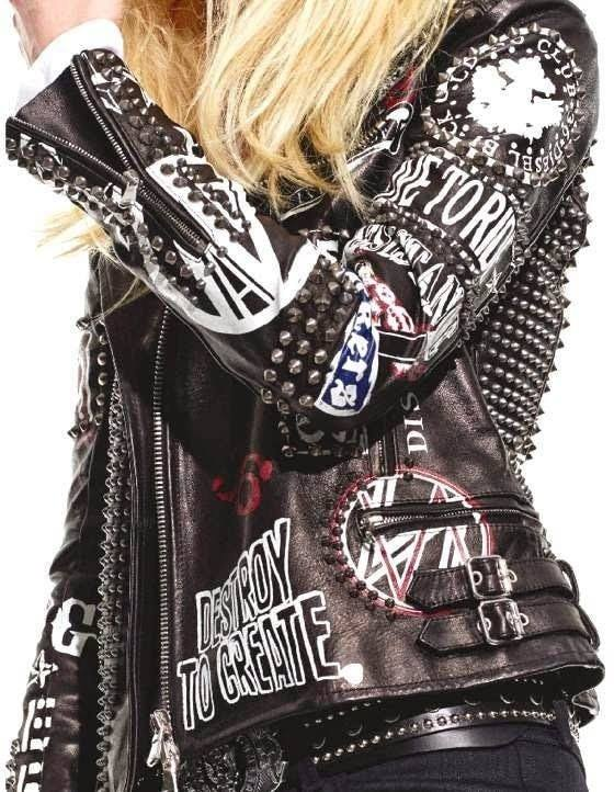 rockstar leather jacket