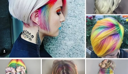 20 Stylish Candy Hair Color Ideas