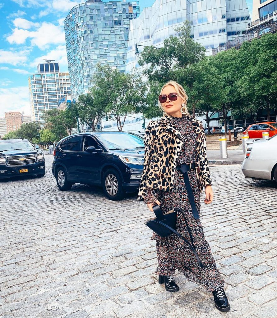 Fashionable winter trends 2020 for those over 40 Animal print