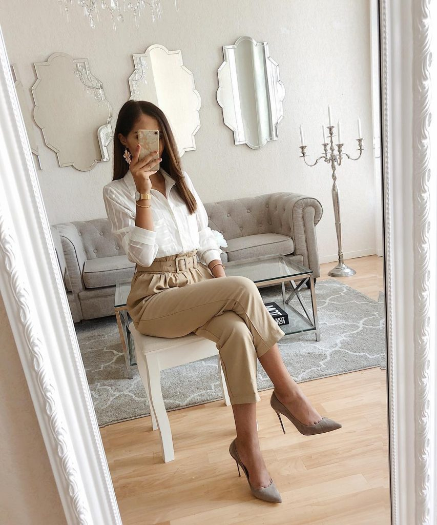 Beige pants: 15 amazing ideas to help you shine every day