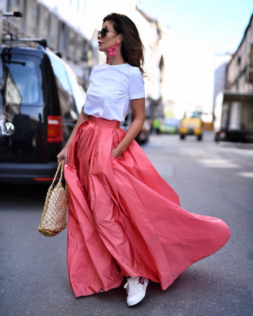 Pink Skirt: 11 Secrets of Stylish Combinations