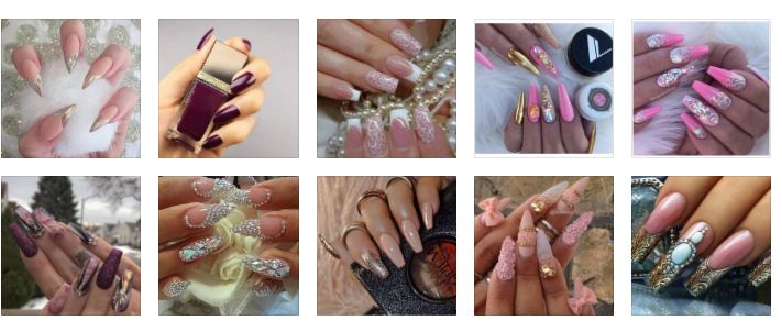 Glam Nails Ideas