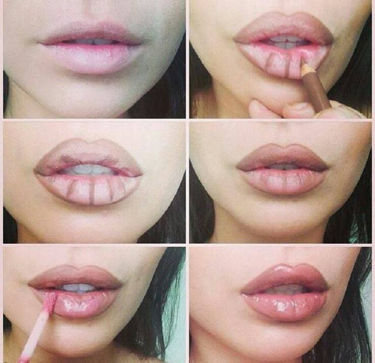 how to make sexy lips