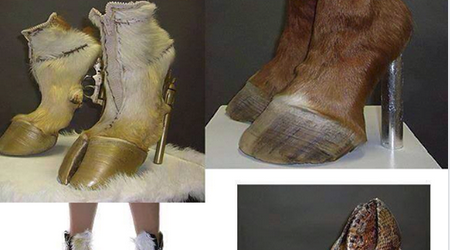 THIS IS HOW INSANE PEOPLE ARE MAKING SHOES OUT OF HORSES