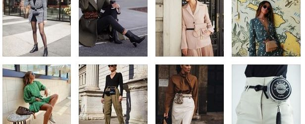 Waist bag: 15 stylish solutions that designers offer us