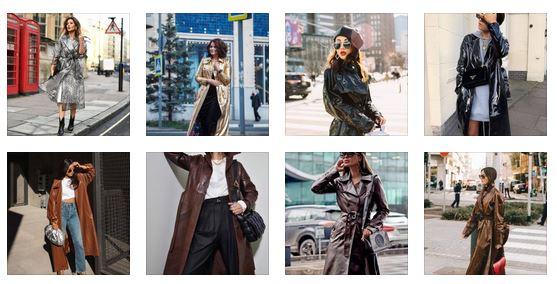 Fashionable raincoats: 15 stylish and trendy models of ...